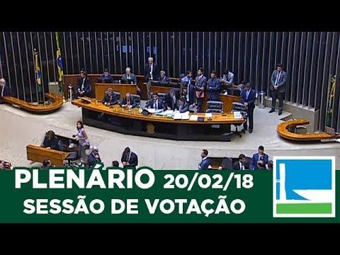 PLENÁRIO - Sessão Deliberativa - 20/02/2018 - 20:05