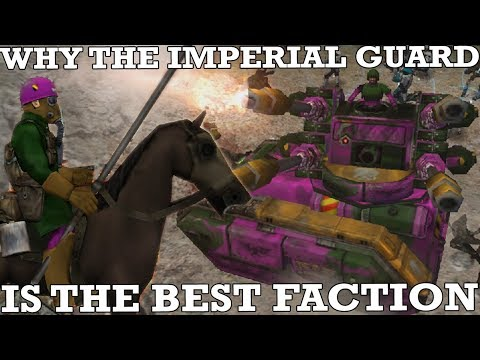 Why The Imperial Guard Is The Best Faction In Dawn Of War: Ultimate Apocalypse Mod