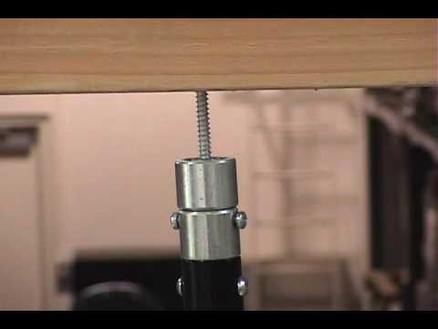 Hanging Threaded Rod Youtube