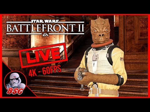 2,000,000 Credits! 😀 Star Wars Battlefront 2 PC and PS4 Gameplay | 4K Live Stream (4K 60FPS) thumbnail