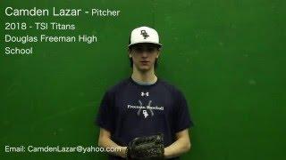 Camden Lazar 2018 Pitcher