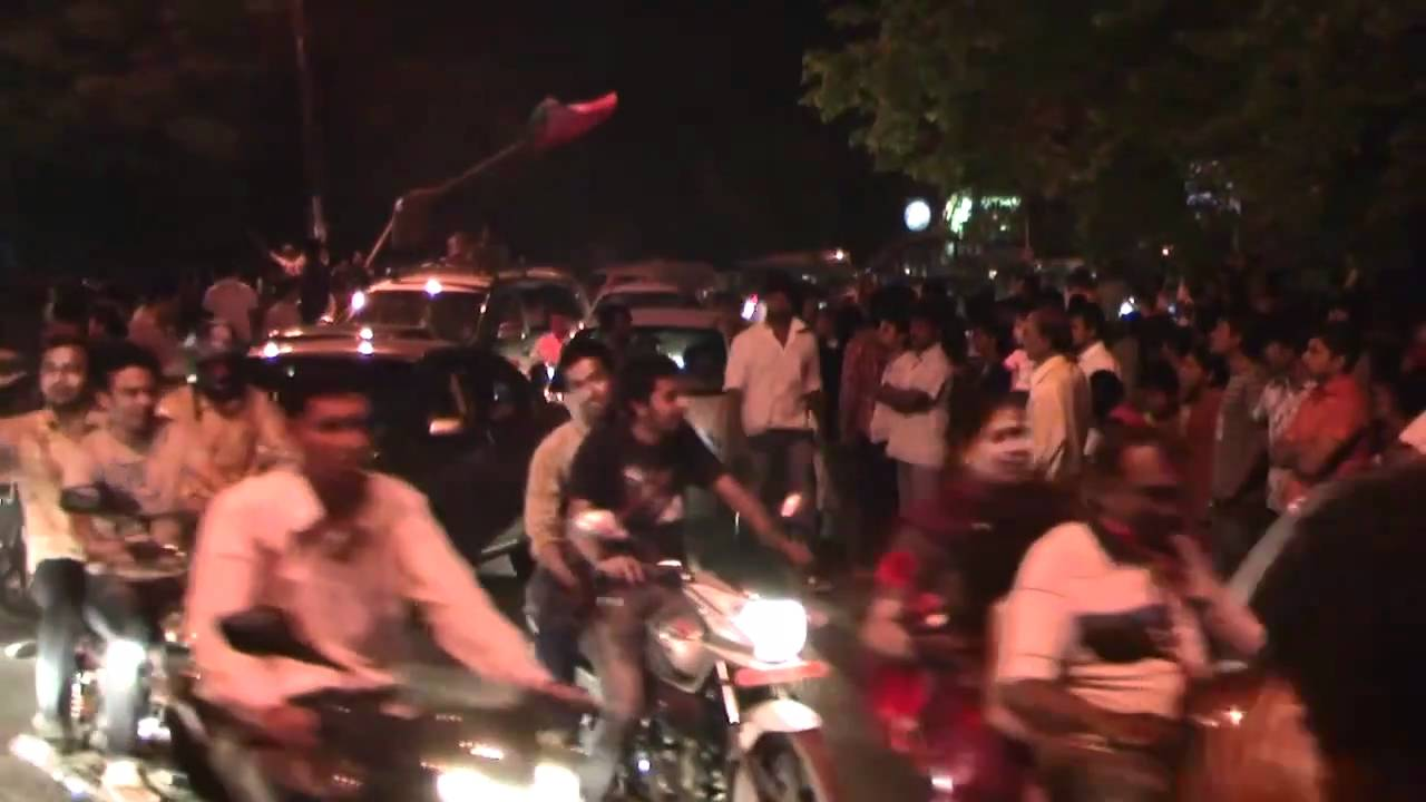 India vs. Pakistan Cricket World Cup Semifinal Victory Celebration, Ahmedabad