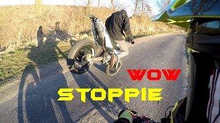 Jak zatankować motocykl za DARMO !? Suzuki DRZ 400 SM & Derbi Senda 140