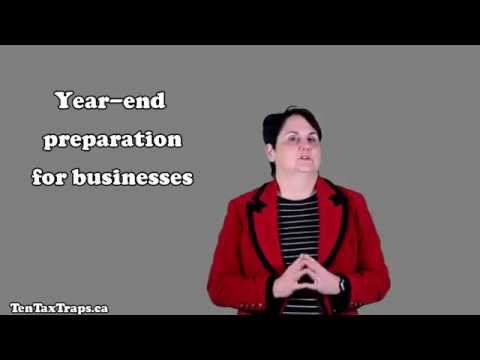 Tax Strategy #10-Year-End Preparation for Businesses