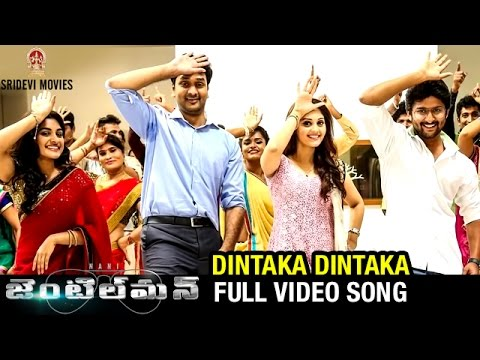 Gentleman Full Video Songs | DINTAKA DINTAKA Full HD Video Song | Nani | Surabhi | Nivetha