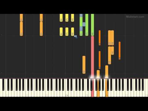 Astor Piazzolla - Libertango (Piano Tutorial) [Synthesia Cover]