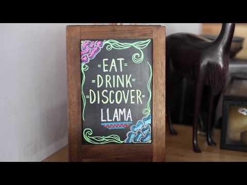 Peruvian Chef Making Food Into Art at the Llama