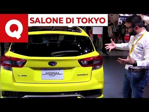 Subaru Impreza Future Sport Concept LIVE @ Salone di Tokyo 2017 | Quattroruote