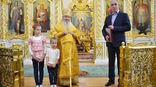 Митрополит Феофан совершил прощальную Божественную литургию