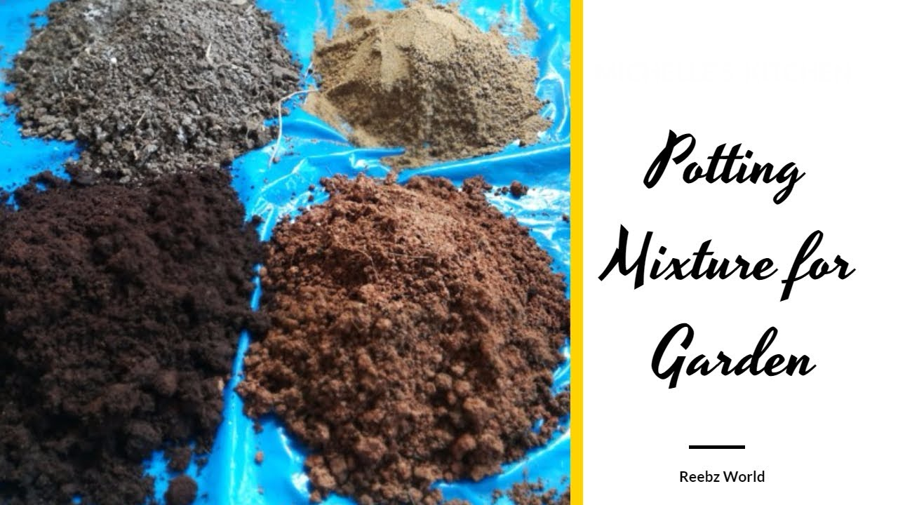 Potting Mixture For Organic Terrace Garden How To Make