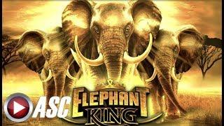 ★NEW SLOT!★ ELEPHANT KING (IGT) & BUFFALO MAX (BONUS BONANZA!) Slot Machine Bonus Win