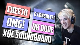 xQc Pretends He's a Soundboard - Rainbow Six Siege