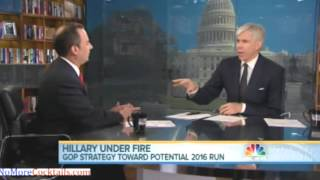 David Gregory to Reince Priebus: How dare you accuse Hillary of covering up Benghazi?