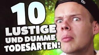 DIE 10 LUSTIGSTEN TODESARTEN! - mit UnsympathischTV
