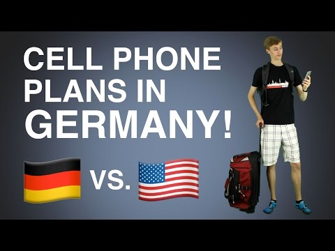 Cell Phone Plans in Germany vs. the U.S.! | July 2016