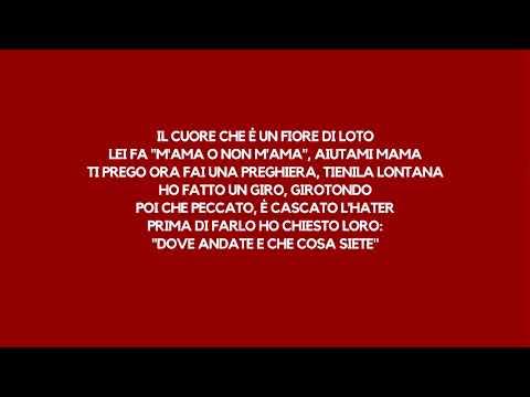 Junior Cally - Capelli Rossi (lyrics/testo)