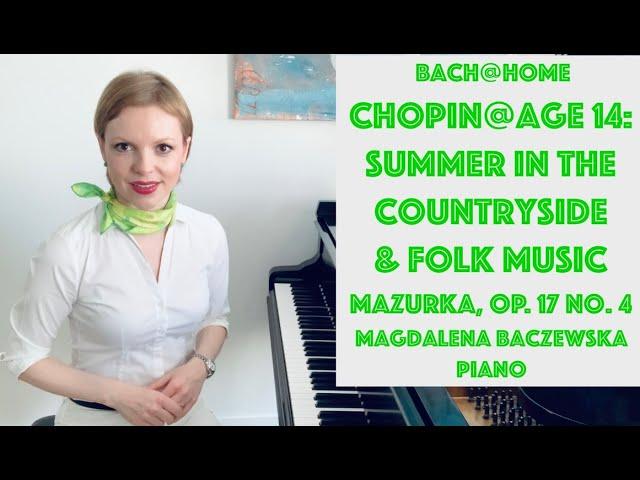 Chopin and Folk Music: Mazurka op. 17 no. 4
