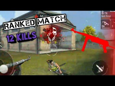 12 Kill Ranked Match  BOOYAH .. Garena Free Fire - Ashutosh Gaming