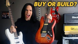 Why Buy A Guitar When You Can Build One? (ft. Guns and Guitars) - Demo / Review