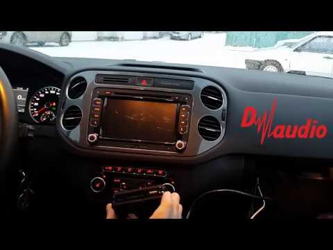 Штатное головное устройство Volkswagen Passat / Tiguan HD CarPad (Android)
