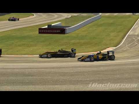 iRacing F3 Montreal Race Highlights