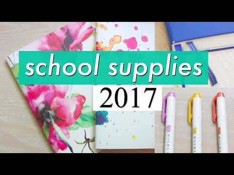 Stationery Haul for IB // Back to School 2017