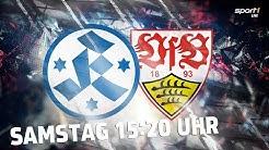 Re-Live | Stuttgarter Kickers - VfB Stuttgart II | Regionalliga Südwest | SPORT1