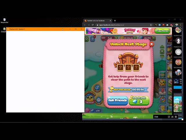 Bubble CoCo: Unlocking Levels Using Charles by Ken