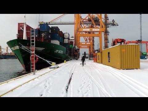 "Frachtschiffreise mit MS ""JSP MISTRAL"" - Februar 2018"