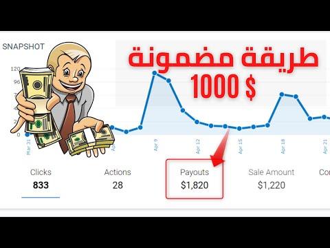 الربح من الانترنت : الأن كل اسرار الربح من الافلييت بين يديك [1000$ شهريا من التسويق بالعمولة ] ?