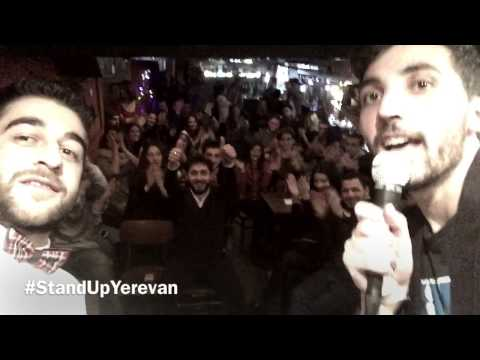Stand Up Yerevan At Hemingway's Pub
