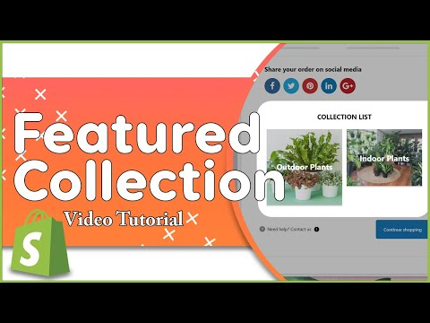 Add A Featured Collection To Your Shopify Thank You Page | ReConvert thumbnail
