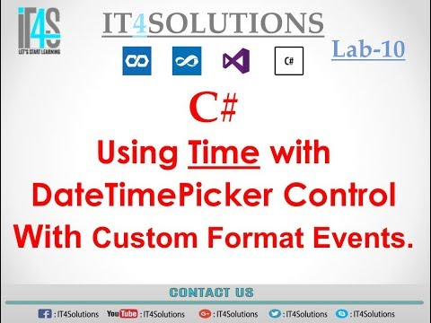 Datetimepicker c form