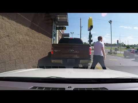 Dothan, AL - Litterbug at McDonald's
