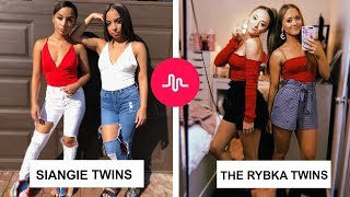Who Is The Best? - SiAngie Twins Vs The Rybka Twins / Musically Battle August 2018