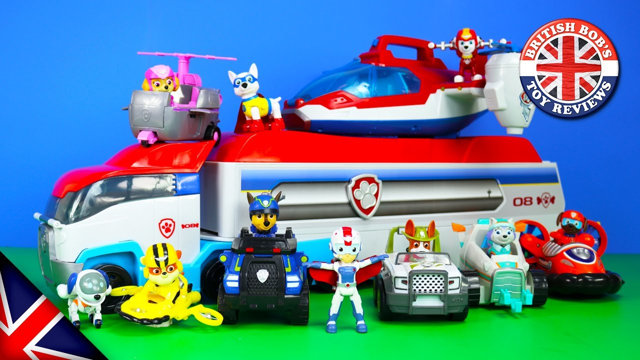 Paw Patrol Toys - Paw Patroller, Paw Patrol Air Rescue Pups, & The Air Patroller Plane Toy Revie
