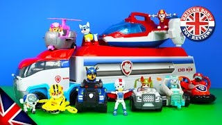 Paw Patrol Toys - Paw Patroller, Paw Patrol Air Rescue Pups, & The Air Patroller Plane Toy Review