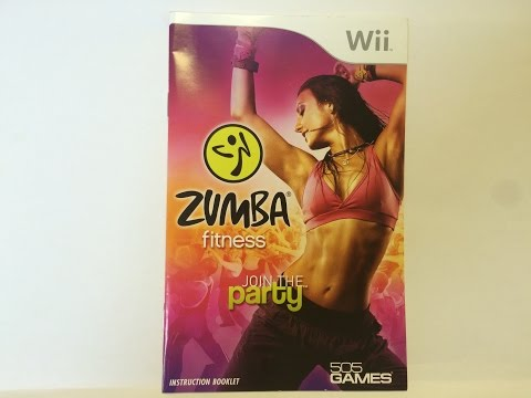Video Game Instructions: Wii- Zumba Fitness