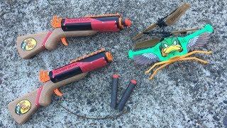 Hover Duck 'Nerf' Double Barrel Shotgun Set Review | Walcom S7 Video