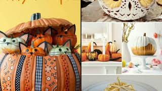Ідеї до свята осені у школі!!! Чудова ідея - повітряні кулі з гарбузів!!!