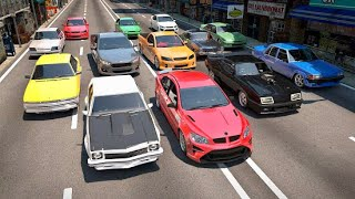Aussie Wheels Highway Racer.. Game Play.. Fastest Cars Used.. Australian Car Game..