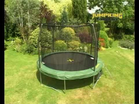 www.MadFun.co.uk - Jumpking JumpPOD Classic Trampolines ...