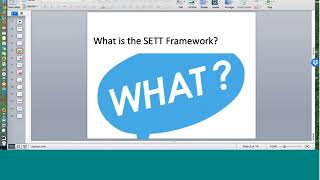 The SETT Framework  & AAC with Joy Zabala