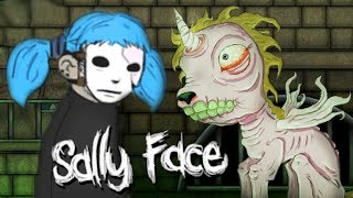 САЛЛИ-КРОМСАЛИ И ДОМ ПРИЗРАКОВ - Sally Face: Ep.2 #3