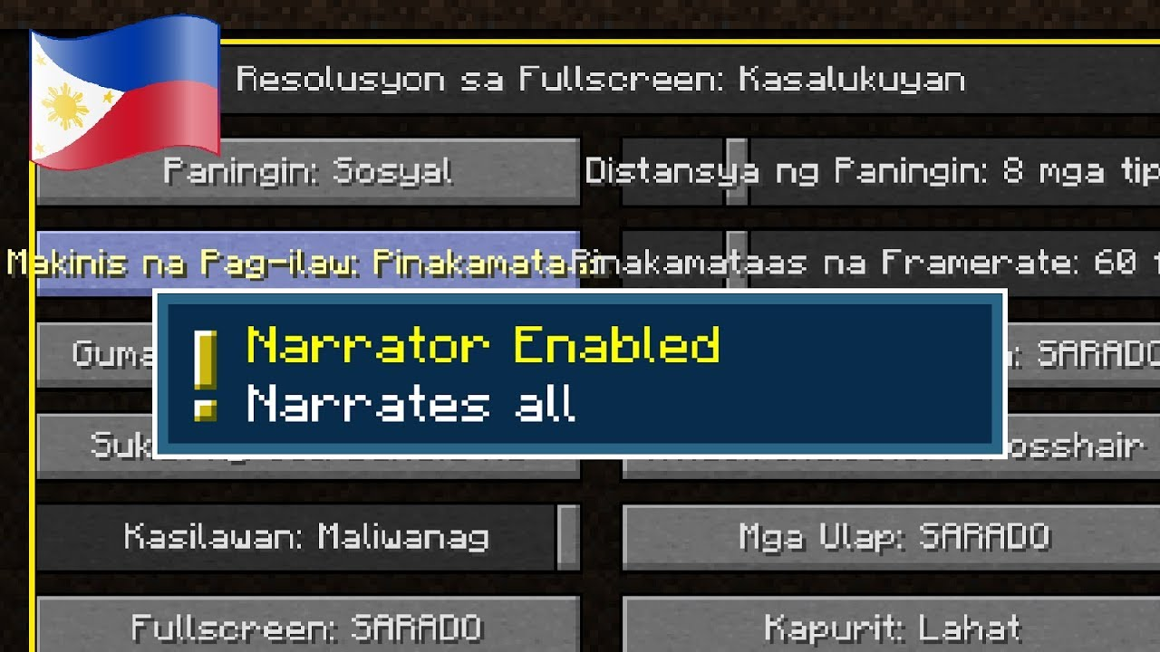 Can Minecraft Narrator Read Foreign Languages?