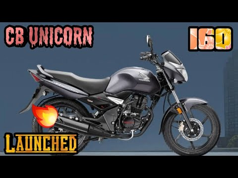 BS6 Honda Unicorn Launched at INR 93,593 with 160cc engine