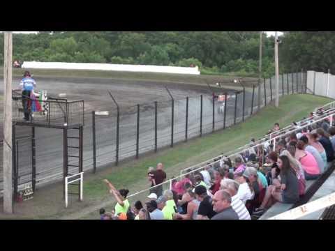 Kinzer's Heat Race Caney Valley Speedway 6/10/17