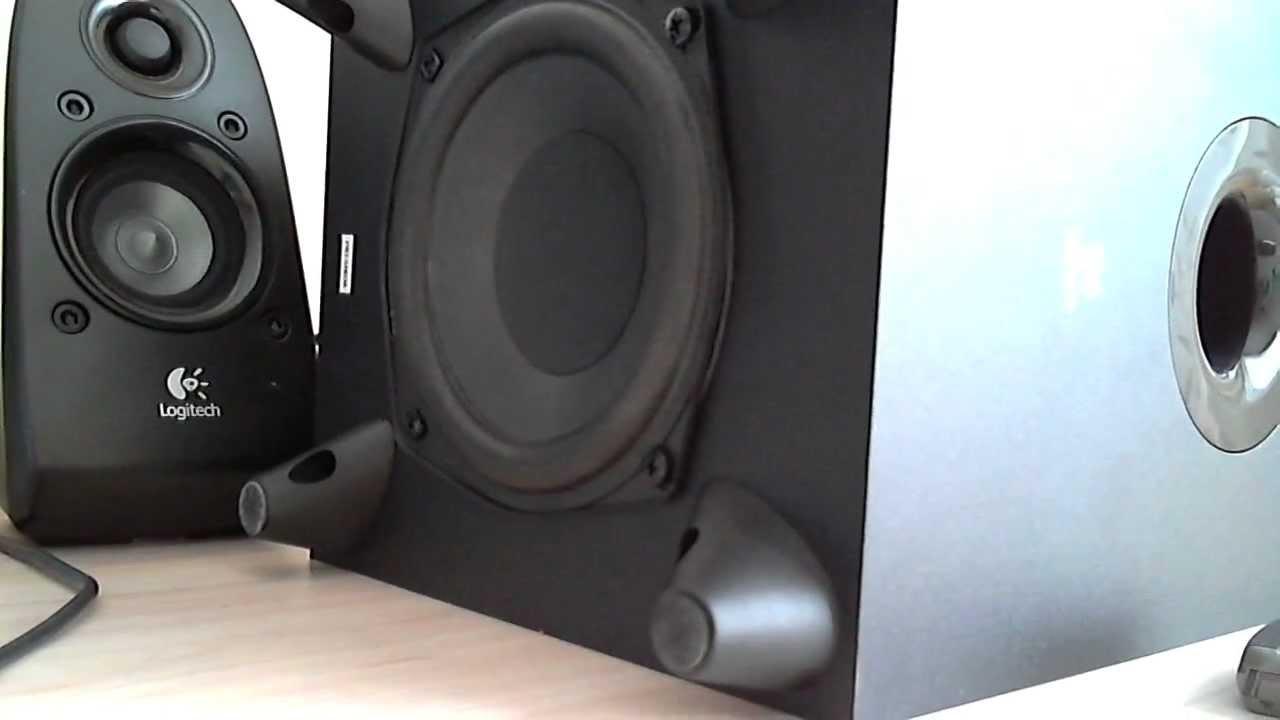 2651c3fc9a0 Logitech Z506 BassTest [HD] - YouTube
