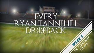 Video Every Ryan Tannehill Dropback - Week 5 vs TEN download MP3, 3GP, MP4, WEBM, AVI, FLV Agustus 2017