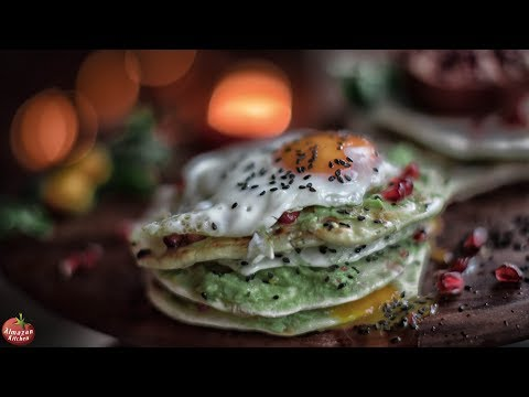 Best Toast Egg & Guacamole - EPIC FOOD!